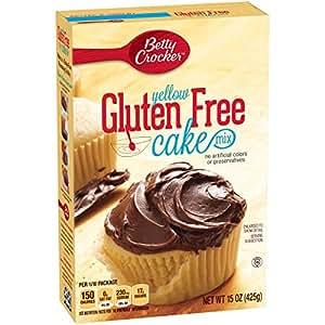 Betty Crocker Gluten Free Cake Mix Yellow 15.0 oz Box