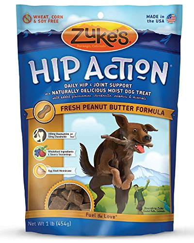 Picture of Zuke's Hip Action Dog Treats, Peanut Butter, 32 oz