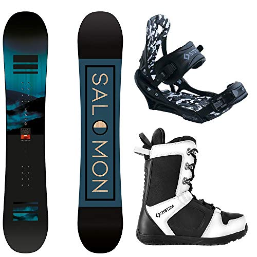 System 2021 Salomon Pulse Complete Snowboard Package