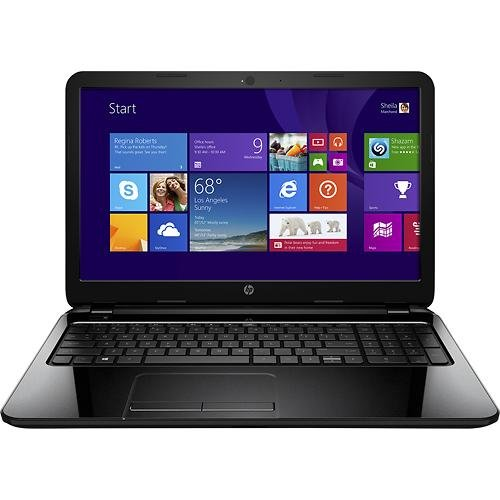 HP 15-G 15.6 Laptop - AMD A8-Series, 4GB Memory, 750GB Hard Drive, Windows 8.1, Black Licorice