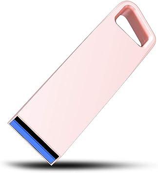 Getue Pendrive 128 GB Alta Velocidad Pendrive 3.0 Memoria USB Pendrive Mini USB Memoria Flash Drive (128GB, Rosa-F): Amazon.es: Electrónica