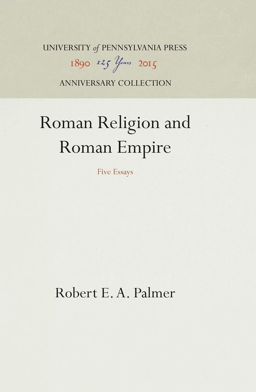 Roman religion and roman empire five essays funny cover letter template