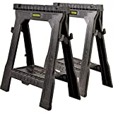 Stanley Folding Sawhorse - Twin Pack