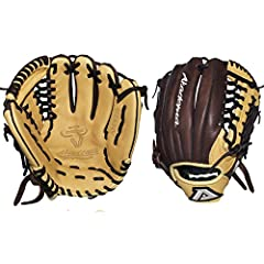 """11.5"""" pattern, modified-trap web, open back, medium-deep pocket for a pitcher, third baseman, shortstop, second baseman. The ProSoft Series was born to meet the desire of players looking for the distinct advantage of a game-ready glove. Light..."""
