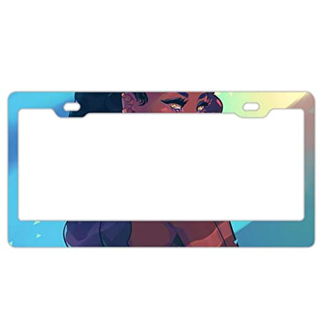 I Love Bingo License Plate Frame Tag Holder