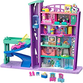 Polly Pocket Mega Mall, Multicolor, Standard, Model Number: GFP89
