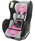 Kinderautositz - gruppen 0+/1 - COSMO - 4 farben - Rose