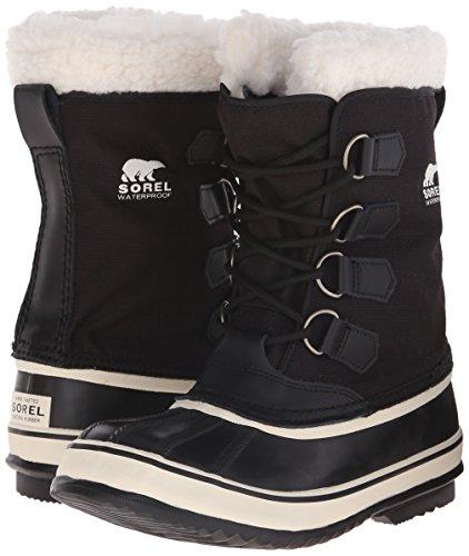 SOREL Women's Winter Carnival Boot,Black/Stone,8 M US by SOREL (Image #6)