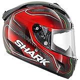 Shark Race-R Pro Guintoli Replica Helmet (Black/Red/Green, Medium)