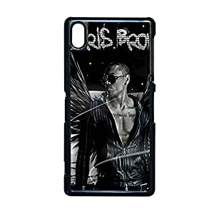 Protection Back Phone Covers For Girls For Xperia Z2 Sony Printing With Chris Brown Choose Design 2