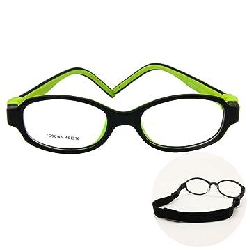 97b93ea13c8 Amazon.com  EnzoDate Kids Optical Eyeglasses Size 46 16 No Screw ...