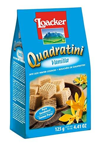 (Loacker Vanilla Quadratini 125 g (Pack of 6))