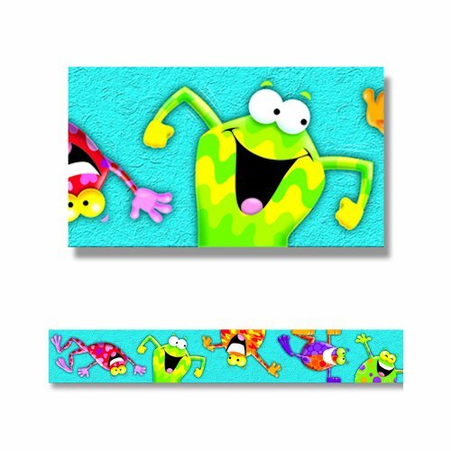 Border Frog (Frog-tastic! Bolder Borders by Trend Enterprises Inc)