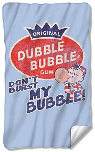 Dubble Bubble - Burst Bubble Fleece Blanket 35 x 57in