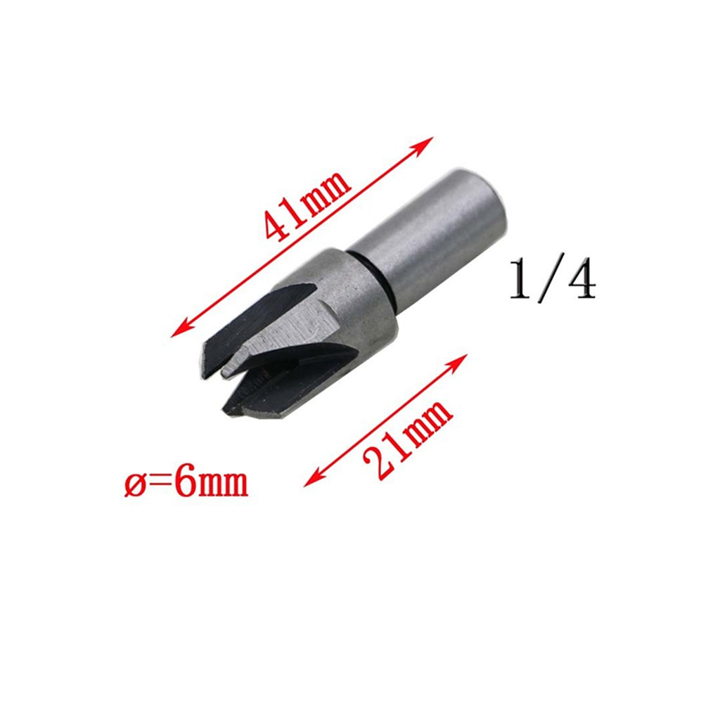 Dovewill 8Pieces / Set Straight & Claw Type Wood Plug Hole Cutter Woodwork Cutting Drill Bits by Dovewill (Image #8)