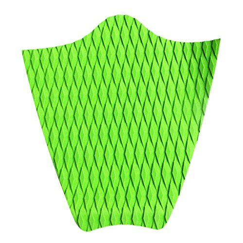 Non-brand Self Adhesive SUP Stand Up Paddleboard Non Slip Dog Traction Pad Mat - Green