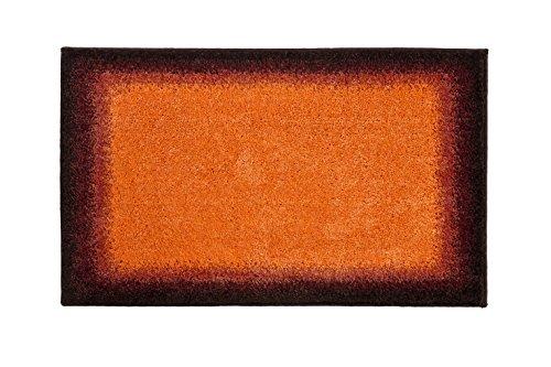 Orange Bath Rugs - 9