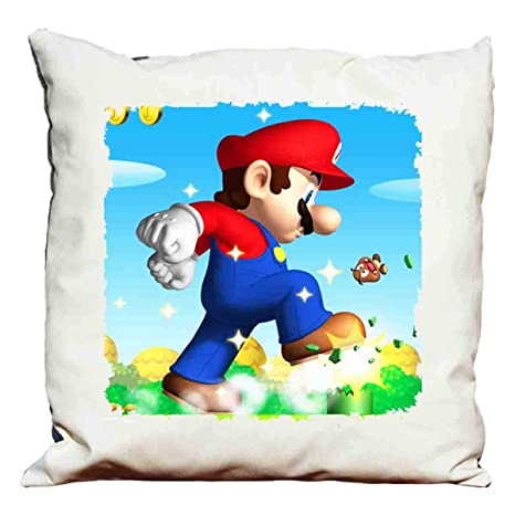 cojín decorativo Super Mario Bros: Amazon.es: Hogar
