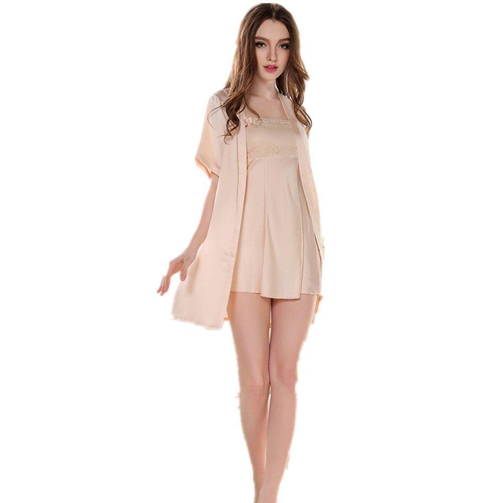 jysport mujeres Nightdress Babydoll nightgowns encaje pijamas satinado pijama Slip lencería trajes