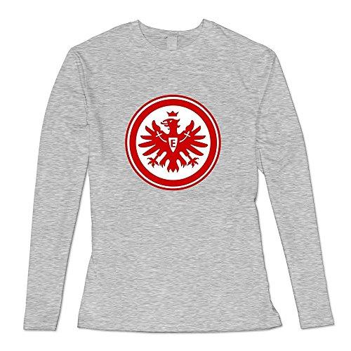 Ambom Ash Eintracht Frankfurt Casual T-shirts For Honey Size (Frankfurt Halloween)