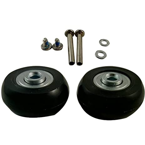 Amazon 2 Set Luggage Suitcase Replacement Wheels Axles and