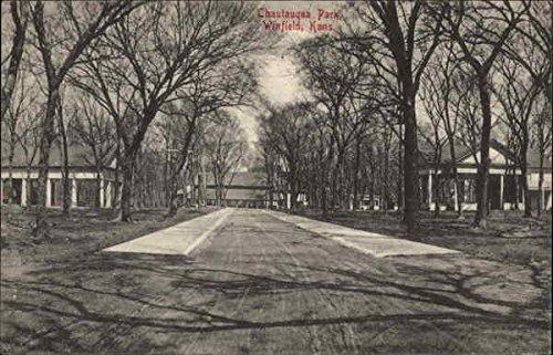 Chautauqua Park Winfield, Kansas Original Vintage Postcard