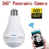 Eachbid Escam QP136 360° Panoramic HD 960P Wireless Camera LED Light Bulb Review