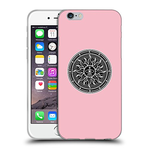 GoGoMobile Coque de Protection TPU Silicone Case pour // Q08230630 Mystique occulte 2 Rose // Apple iPhone 6 4.7""