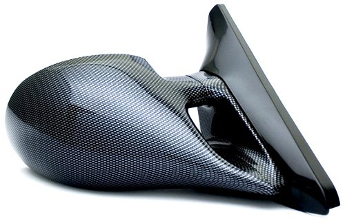 IPCW CM3F-96CV2 Carbon Fiber M3 Style Manual Side Mirror - Pair