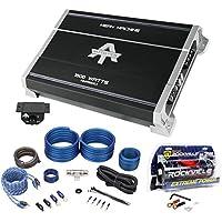 Autotek MMA1500.1 1500w Mono Car Audio Amplifier Mean Machine+Amp Kit+Capacitor