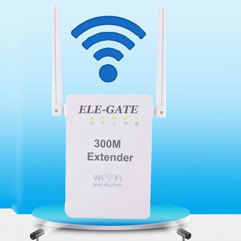 XGLL Router WiFi, WiFi Range Extender 300Mbps 2.4Ghz con ...