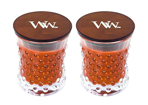 - WoodWick Vintage Hobnail Candle Set - Pumpkin Butter