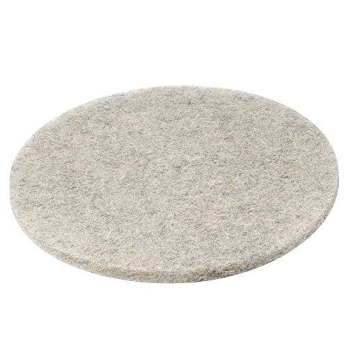 "Boardwalk 4020NHE Natural Hair Extra High-Speed Floor Pads, Natural, 20"" Diameter (Case of 5)"