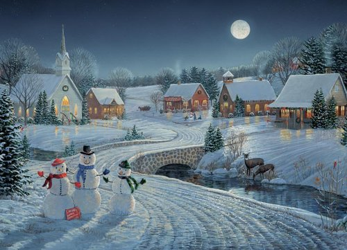 Cobble Hill One December Night 1000 Piece Jigsaw Puzzle