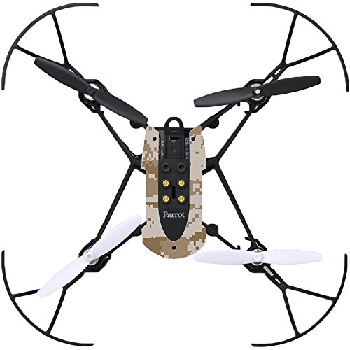 MightySkins Protective Vinyl Skin Decal for Parrot Mambo Drone Quadcopter wrap Cover Sticker Skins Desert Camo ()