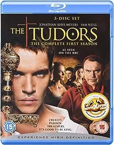The Tudors (Complete Season 1) - 3-Disc Set ( The Tudors - Complete Season One ) [ Blu-Ray, Reg.A/B/C Import - United Kingdom ]