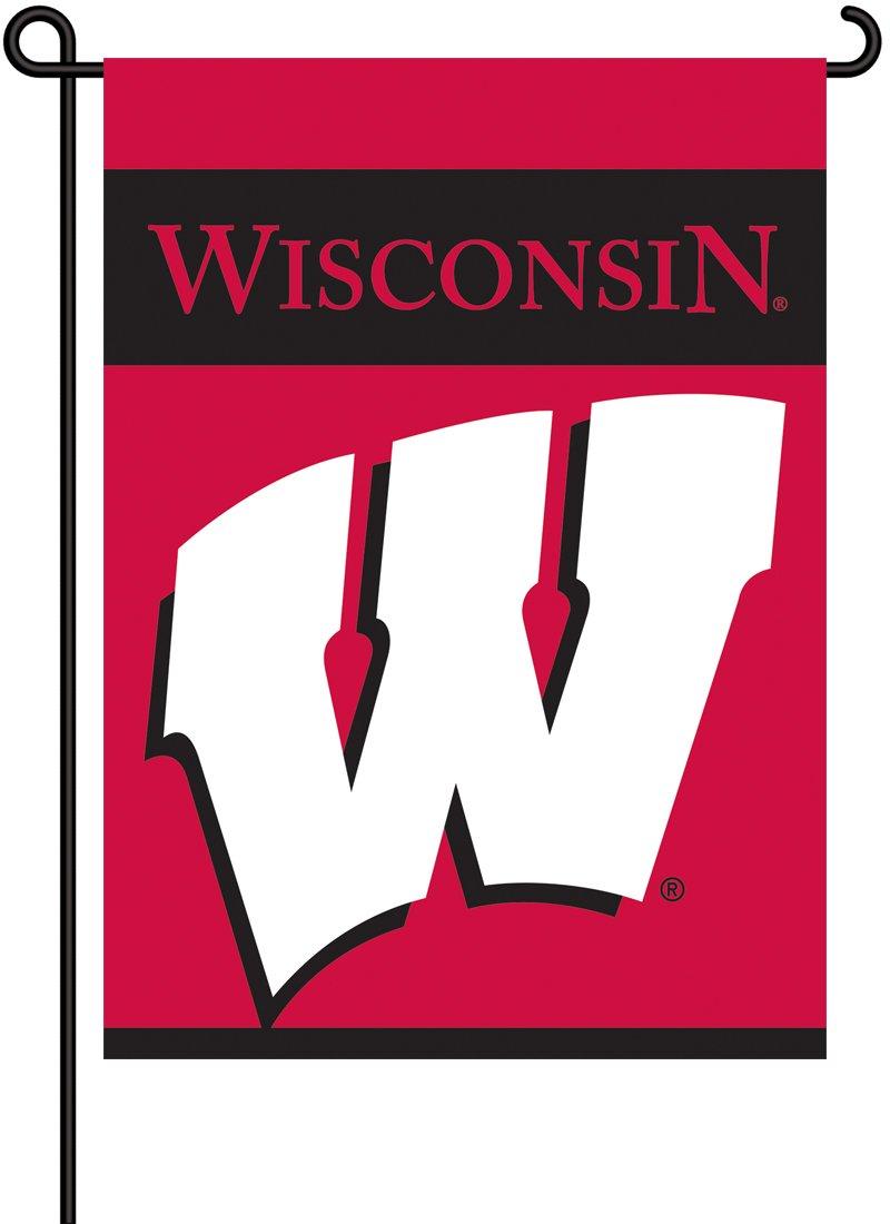NCAA Wisconsin Badgers 2-Sided Garden Flag
