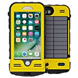 Snow Lizard Products Battery Case for iPhone 8 - Yellow