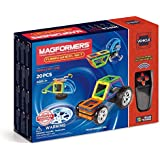 MAGFORMERS Funny Wheel (20 Piece) Magnetic Building Set