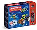 Magformers Funny Wheel (20 Piece) Set Magnetic    Building      Blocks, Educational  Magnetic    Tiles Kit , Magnetic    Construction  STEM Toy Include Wheels