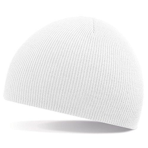 gorro de talla ShirtInStyle gorro Green única Blanco Tejer invierno moda Gorro de de lana FwIS8nfTIq