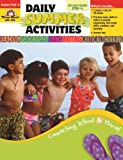 Daily Summer Activities, Moving from Preschool to Kindergarten, Evan-Moor, 1557997640