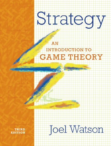 Strategy: An Introduction to Game Theory, 3rd Edition Front Cover