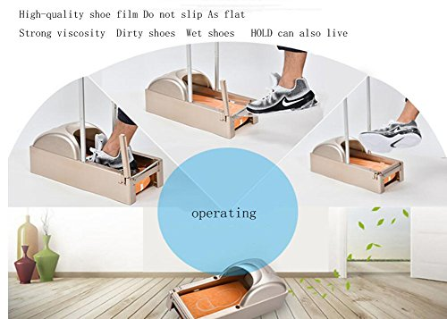Shoe Cover Machine Foot Machine Disposable Shoe Cover Machine Automatic Foot Machine Foot Film Foot Machine 215177cm (Give Away 1 Rolls -600 Shoe Molds),White by D&F (Image #2)