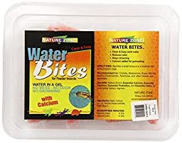 Nature Zone SNZ54214 Water Bites Food with Calcium Concentrate for Crickets, 5-Gallon
