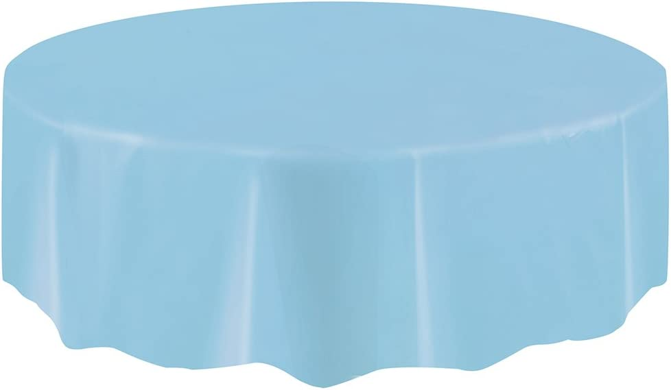 Baby Shower Blue Star Boy Party Table Cover Plastic Tablecloth