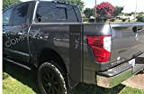 Nissan Titan 1500 5.6 L Body Side Stripes Decals, Black Vinyl Stickers, racing Custom Nismo auto Graphics 4x4 off-road style