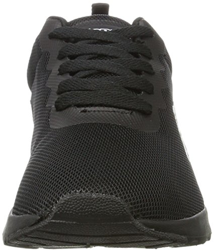 Kappa Damen Sneaker Di Classe Schwarz (1111 Nero)