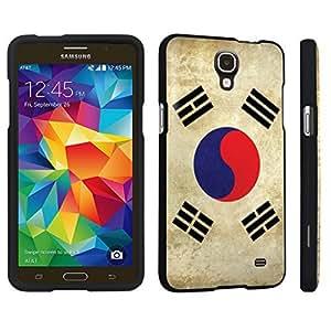 DuroCase ? Samsung Galaxy Mega 2 Hard Case Black - (Korea Flag)