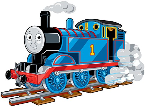 """Thomas The Train - For Light-Colored Materials - Iron On Heat Transfer 6.5"""" x 5"""""""